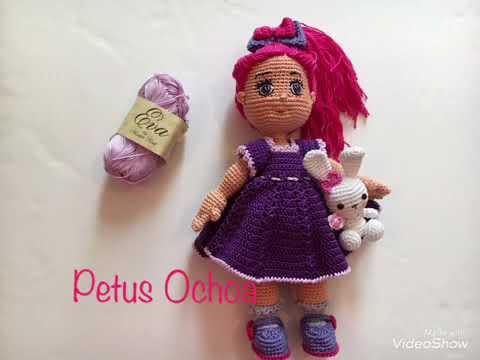 Amigurumis Muñecas : Que material ocupo para mí muñeca greta amigurumis by petus youtube