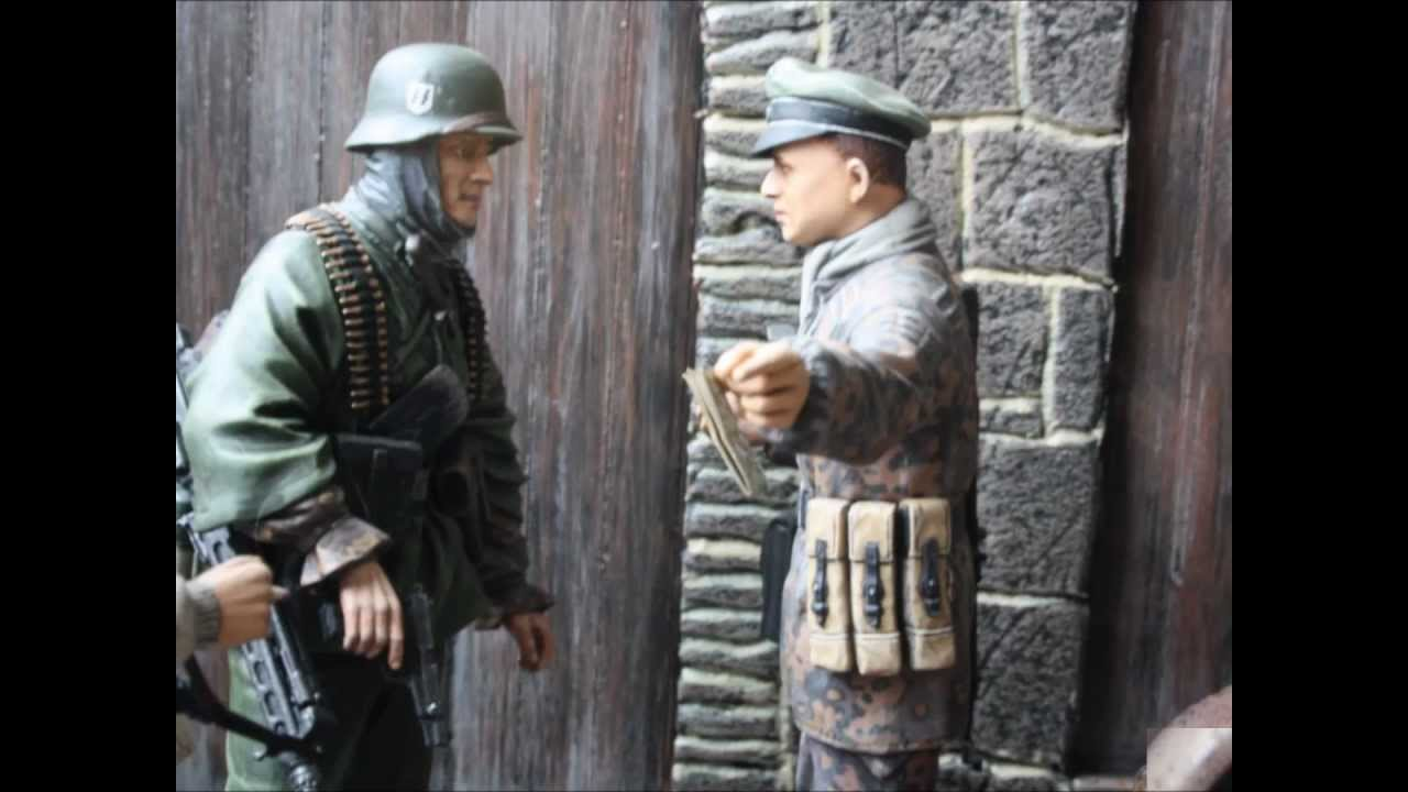 Battle Of The Bulge 1944 Diorama 1 16 Scale Youtube