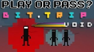 Play or Pass - Bit Trip VOID - Mac/PC/Wii/3DS (Review)