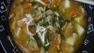 How To Make Chicken, Vegetable & Quinoa Soup