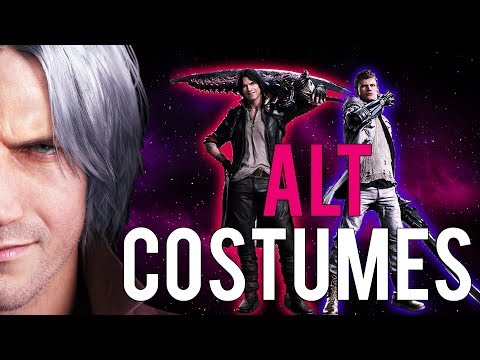 Devil May Cry 5 - Alternate Costumes - New Info thumbnail