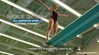 Natalie Snyder: Diving into opportunity