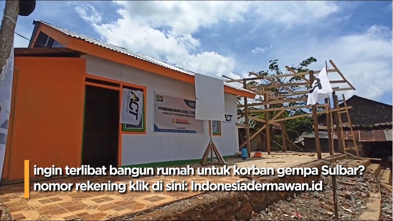 LIVE - ACT BANGUN RATUSAN FAMILY SHELTER UNTUK PENYINTAS GEMPA SULBAR