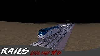 Roblox: Rails Unlimited! Blue Streak [Yellow Bolt added]
