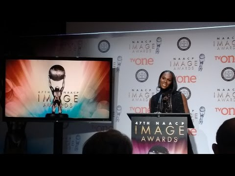 47th NAACP Image Awards nominations press conference