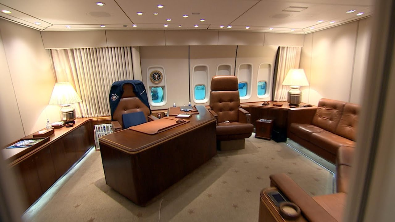 046eb4e84 Air Force One: Inside the Oval Office in the Sky - YouTube