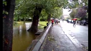Newcastle flooding after September rain storms