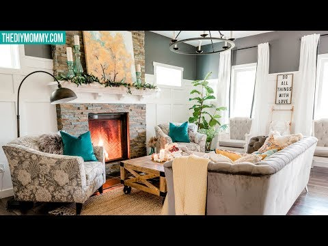 FALL DECORATE WITH ME | Cozy, Colorful Living Room