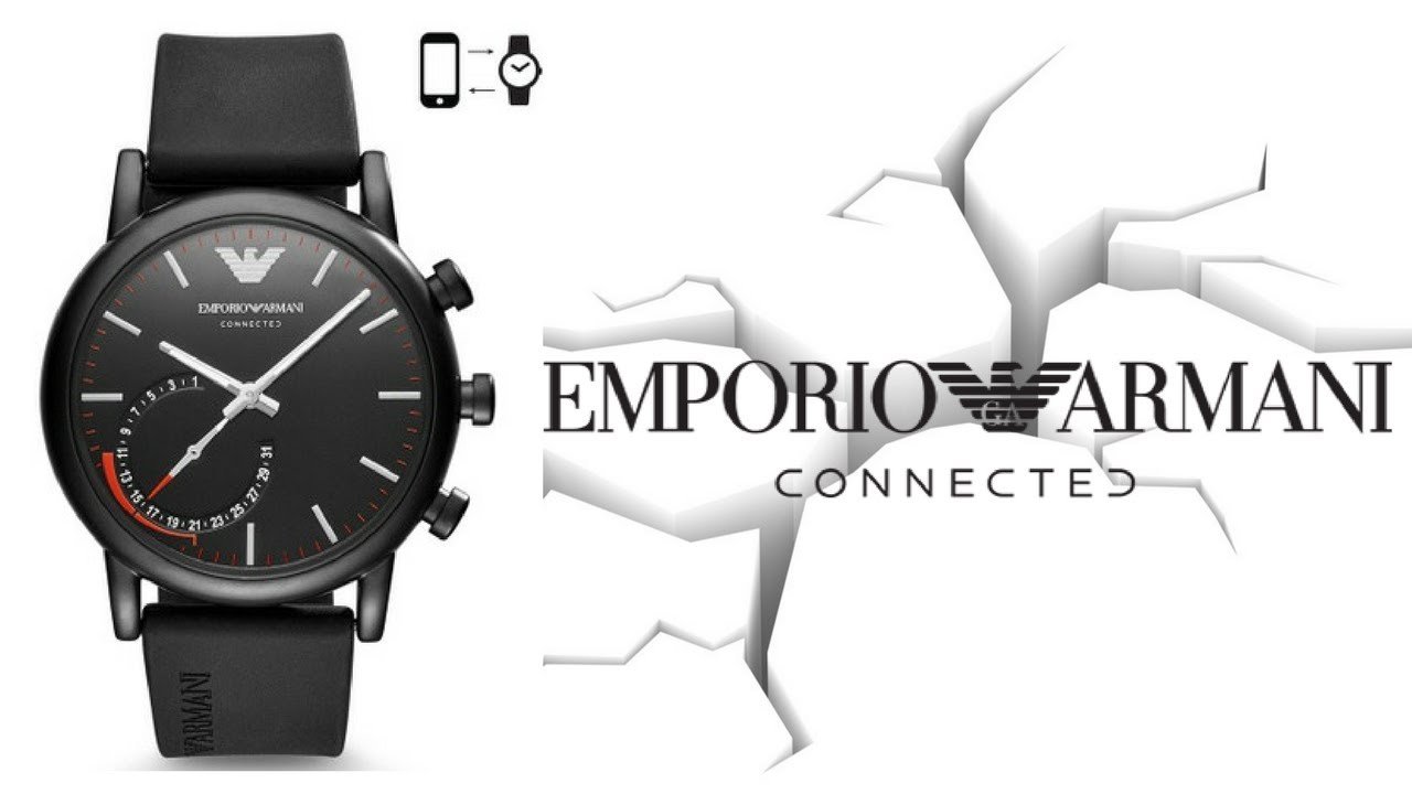 a13267a348 Emporio Armani Connected Hybrid Smartwatch Review & Best Features