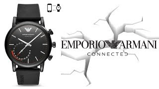 Emporio Armani Connected Hybrid Smartwatch Review & Best Features