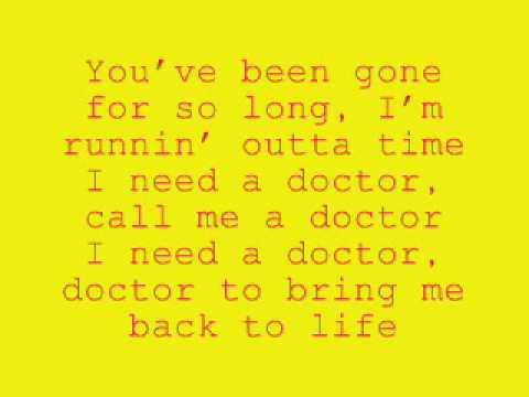 i need a doctor - skylar gray only with lyrics
