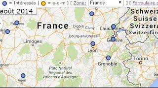 Carte d'église de maison (Canada, Belgique, France, Luxembourg, Suisse)
