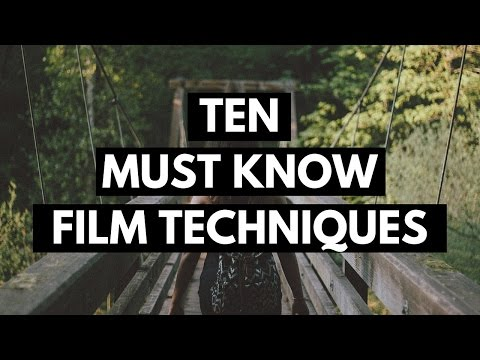 Film techniques for students