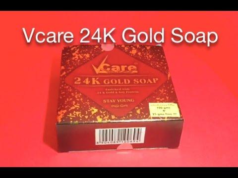 Vcare 24K Gold Soap