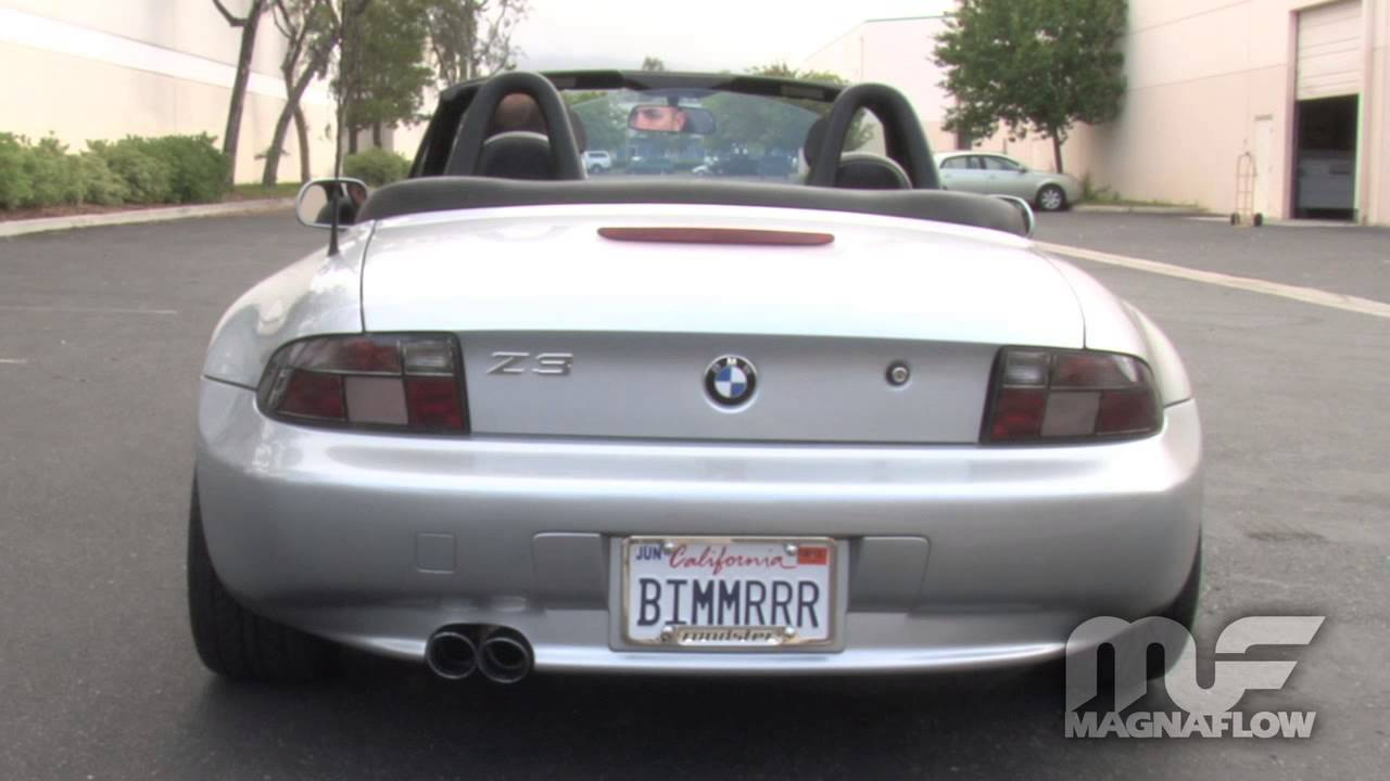 1997 Bmw Z3 Magnaflow Exhaust Part 16712 Youtube