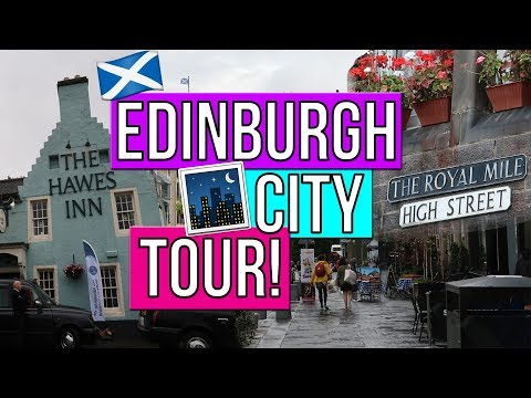 EDINBURGH SCOTLAND CITY BUS TOUR!! + RUDEST BUS DRIVER EVER! EDINBURGH SCOTLAND TRAVEL VLOG!