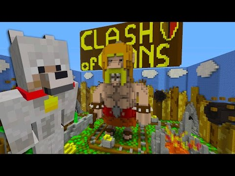 CLASH OF CLANS | HIDE AND SEEK | MINECRAFT XBOX