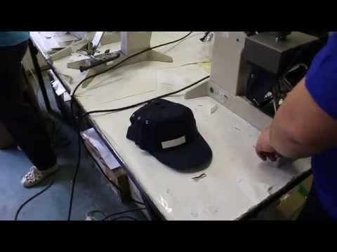 видео: Трансфер перевод - печать на бейсболках