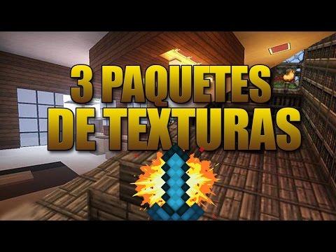 😉¡MIS 3 PAQUETES DE TEXTURAS PERSONALIZADOS! 😉| SkyWars.