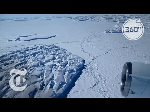 Predicting Antarctica's Fate By Studying The Ross Ice Shelf | 360 VR Video | The New York Times