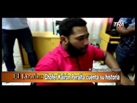 Marino Zapete: Chofer Kairon Peralta cuenta su historia / San Fco. No aguanta mas criminalidad Seg-1
