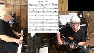 Cocktails For Two - Jazz guitar & piano cover ( Sam Coslow & Arthur Johnston )