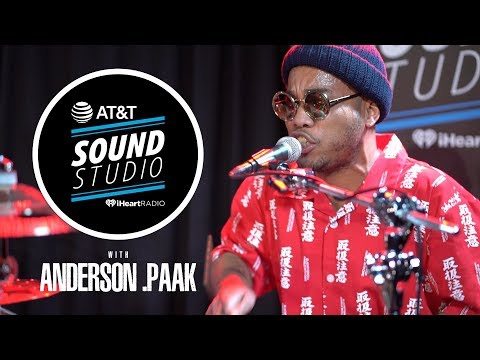 Anderson .Paak Performs Live Inside The AT&T Sound Studio