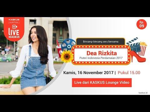 Live Ngaskus Bareng Dea Rizkita, Wakil Indonesia di Miss Grand International 2017