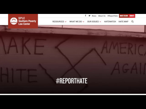 Reporting a Hate Incident to the SPLC
