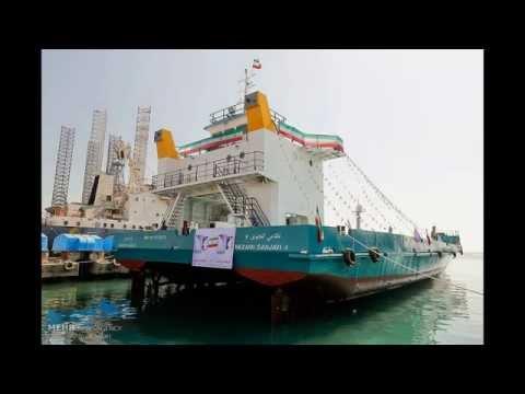 Iran catamaran landing craft (L-CAT) 15,000 metric Ton لندينگ كرافت كاتاماران نظامي گنجوي ايران