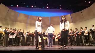 Belén María sings at the Music of Mexico Concert at UCLA