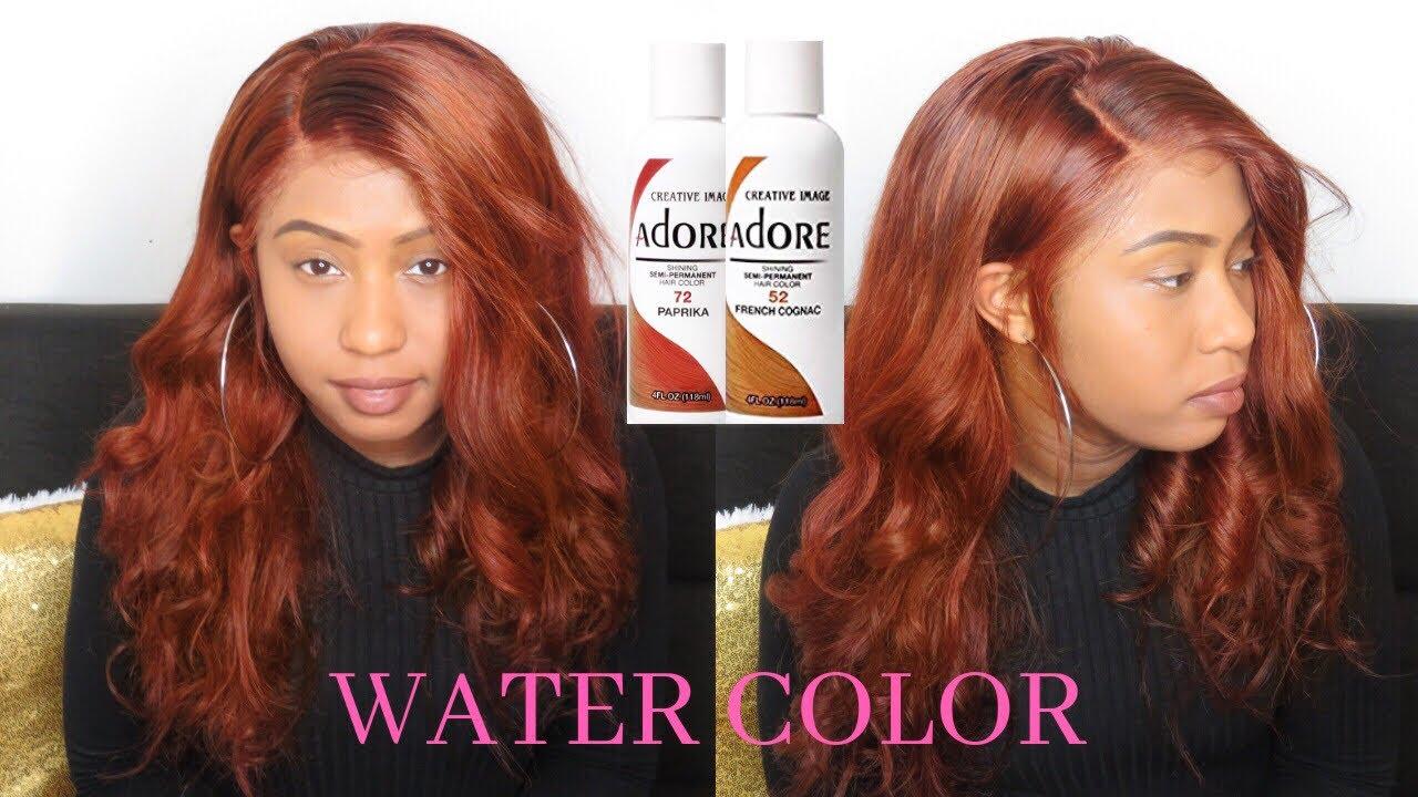 18++ Adore paprika hair color ideas