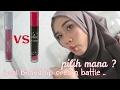 Wardah exclusive matte lip cream VS PIXY lip cream