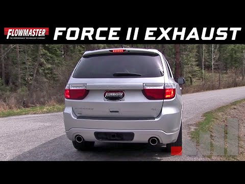 Flowmaster Force II Cat-back Exhaust System for the 2011-2017 Dodge Durango R/T w/ 5.7L V8 - 817651