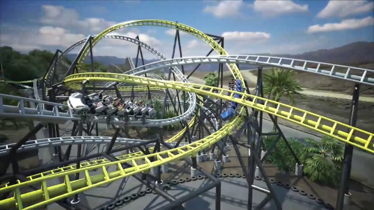 Six Flags Magic Mountain West Coast Racers Review