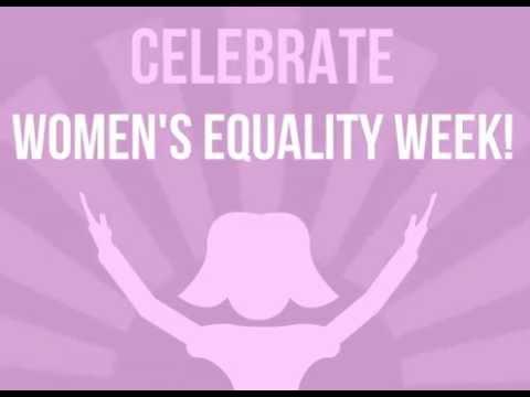 Happy Women's Equality Week !!