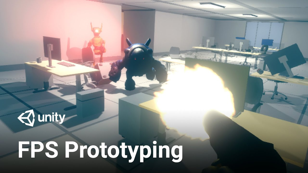 Making an FPS Game with Unity using the Asset Store!