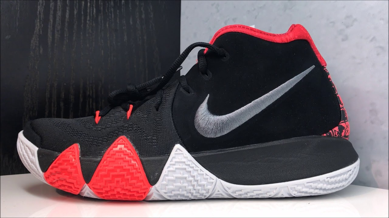 san francisco cc604 20edd Nike Kyrie Irving 4 NBA Finals 41 For The Ages 'Bricks' Sneaker Review