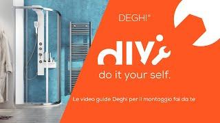 Come montare un box doccia semicircolare Young - TUTORIAL Deghi