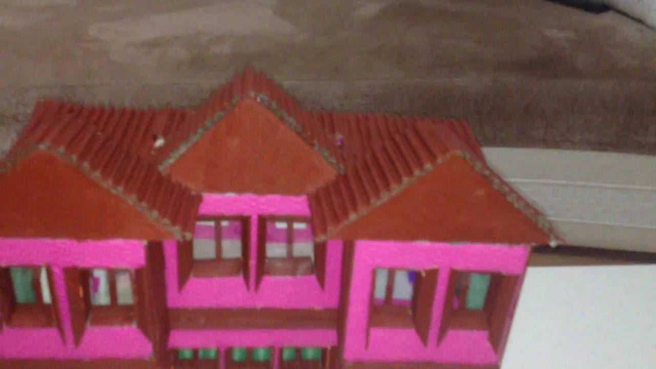 Maket Ev Pencere Boyama Ve Yapım Aşaması 9 Youtube