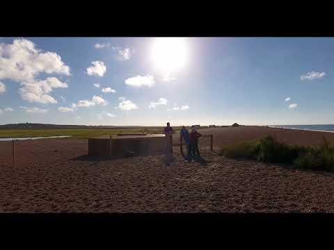 Clay Beach Holt Norfolk England Filmed in 4K