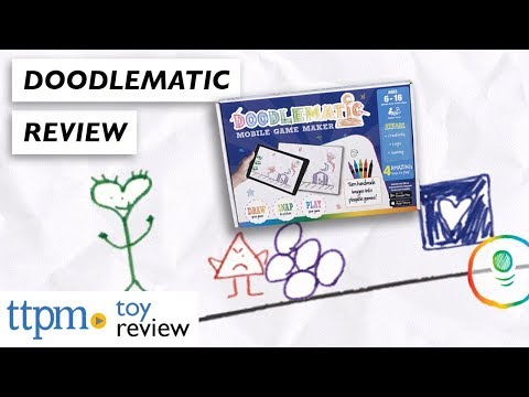 DoodleMatic Mobile Game Maker Review from Tink Digital