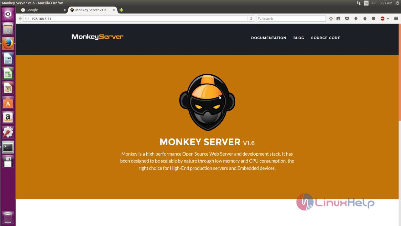How to install Monkey web server