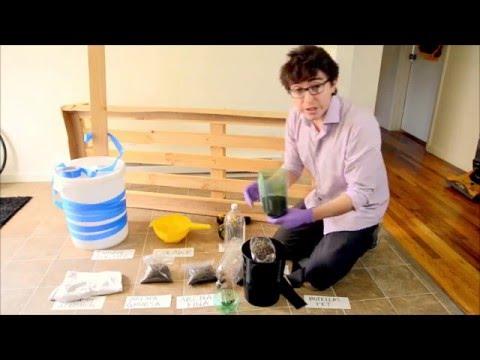 Filtro casero y métodos de desinfeccion de Agua