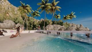 Секс онлайн компьютерная игра 3DXChat: Утро на пляже