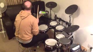 R.E.M. - The Sidewinder Sleeps Tonight (Roland TD-12 Drum Cover)