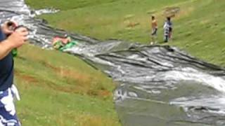 400 Foot Downhill Slip n Slide