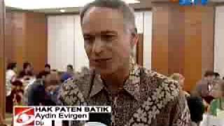 Batik, don't steal to malingsia or malaysia, see: wikipedia