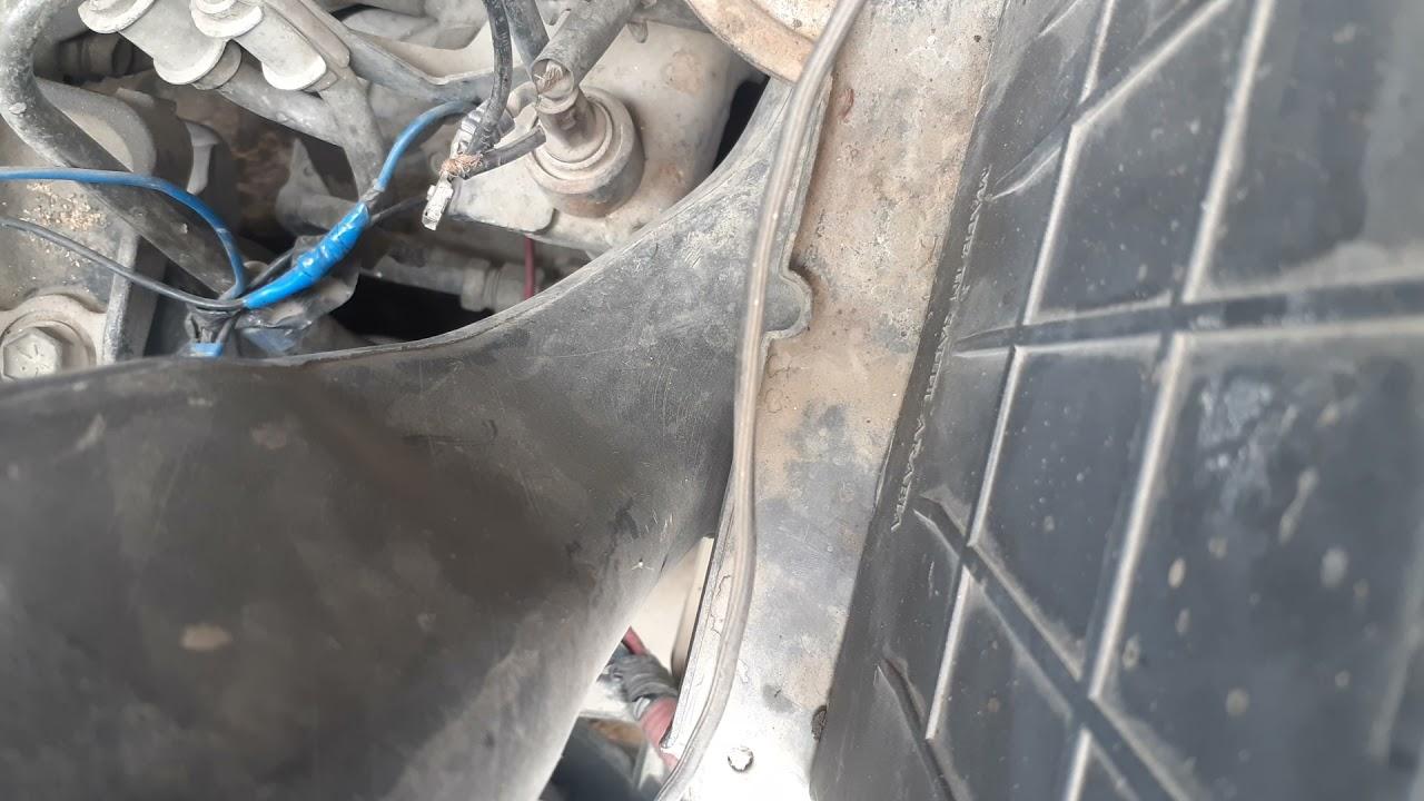 صوت الحديد او صوت خرفشه عند التشغيل والسياره بارده يكون السلف فقط لاغير