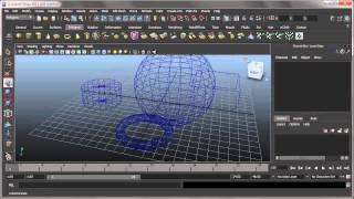 Maya 2011 - Урок 6 - Инструменти, настройки и т.н. - първа част